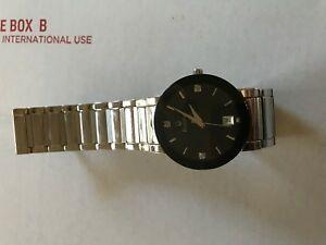 【送料無料】腕時計 メンズステンレススチールクオーツbulova mens stainless steel quartz watch 96d18