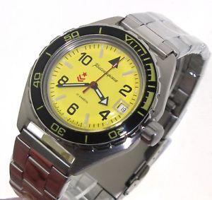【送料無料】腕時計 ヴォストークロシアウォッチvostok komandirskie russian military watch 650855