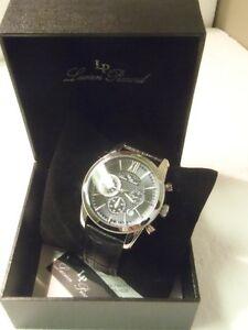 【送料無料】腕時計 メンズクロノグラフブラック