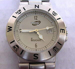 【送料無料】腕時計 コレクションmontre beuchat ancienne de collection vers 2000
