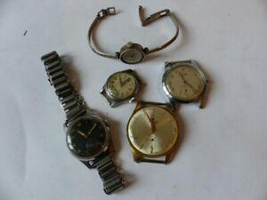 【送料無料】腕時計 cinq montres anciennes 26974