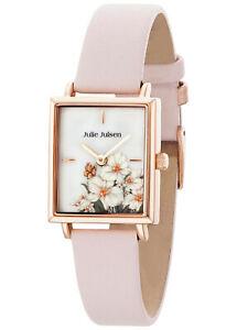 【送料無料】腕時計 ジュリーレディースローズjulie julsen damenuhr blumen ros jjw102rgl2