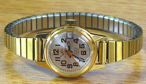 【送料無料】腕時計 ビンテージレディーススイスヴィルvintage villereuse automatic 17jewels swiss ladies wrist watch