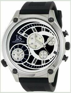 【送料無料】腕時計 デュアルタイムクロノグラフドルジョシュアメンズクォーツボックスdual time chronograph save 600 ~ jamp;s joshua amp; sons mens quartz watch boxed