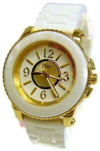 【送料無料】腕時計 ジューシークチュールレディースホワイトベゼルホワイトシリコンストラップドル195 juicy couture womens pedigree white bezel white silicone strap 1900787 nwt