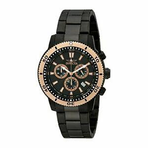 【送料無料】腕時計 ステンレススチールクロノグラフウォッチinvicta specialty 1206 stainless steel chronograph watch