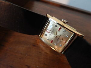 【送料無料】腕時計 ビンテージvintage bercona 17 jewels wind up watch nice condition international