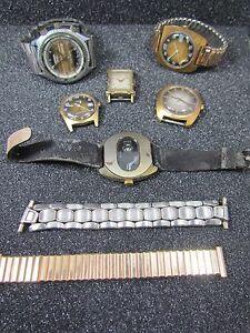 【送料無料】腕時計 ビンテージロットトーンエレクトラウォルサムロット#vintage lot 6 wrist watches kronotone electra tmex waltham lot 2