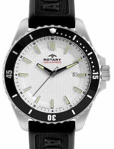 【送料無料】腕時計 ロータリーウォッチアクアスピードrotary gents aquaspeed watch ags0029306