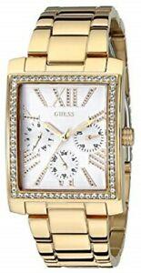 【送料無料】腕時計 ウィメンズゴールドトーンステンレスブレスレット authentic guess u0446l2 womens goldtone stainless bracelet watch 36x30mm
