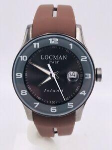 【送料無料】腕時計 アイスランドデータシモヌオーヴォorologio locman island data gommatitanio 40mm 600ab278 scontatissimo nuovo