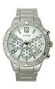 【送料無料】腕時計 シルバーステンレススチールクオーツウォッチ authentic guess u0141l1 silver tone stainlesssteel quartz watch w tag