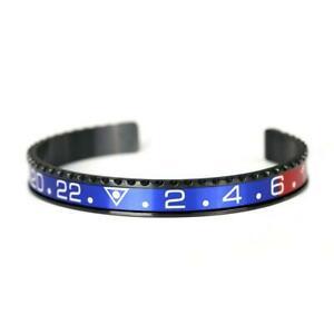 【送料無料】腕時計 ブラックベゼルオイスターブレスレット