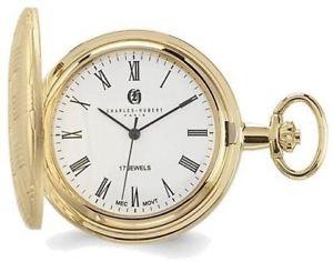 【送料無料】腕時計 チャールズゴールドバスケットポケットウォッチ