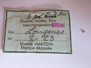 【送料無料】腕時計 ロットドビンテージlot de 3 axes match montre horlogerie vintage cal longines 823 original