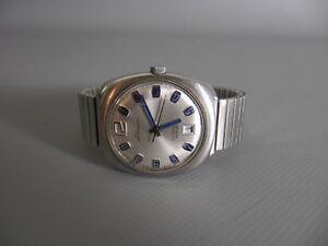 【送料無料】腕時計 ビンテージvintage lohmann herrenuhr automatic 25 rubis 70er jahre