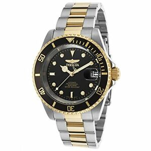 【送料無料】腕時計 プロダイバーkゴールドステンレススチールinvicta 8927ob mens pro diver 18k gold ionplated and stainless steel watch