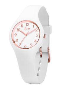 【送料無料】腕時計 ホワイトローズシリコンウォッチice watch 015337 ice glam white rose numbers small, silikon wei neu