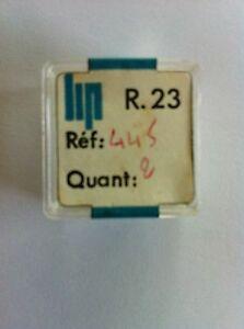 【送料無料】腕時計 ロットドドリップ#lot de 2 freins de tirette lip r23 ref445 dans sa boite d039;origine