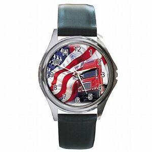【送料無料】腕時計 トラックアメリカトラックアメリカレザー