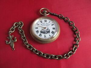 【送料無料】腕時計 ボートレバースイスポケットウォッチseltene boat mail lever swiss made taschenuhr