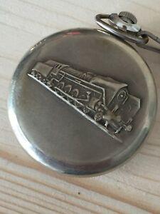 【送料無料】腕時計 メッカニコorologio meccanico ferrovia russo da tasca locomotiva molnija 3602