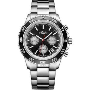 【送料無料】腕時計 ロータリークロノグラフrotary gents date display chronograph watch gb0041004