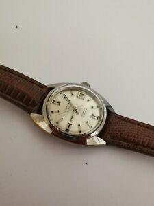 【送料無料】腕時計 ビンテージウォルサムウィンドウvintage waltham automatic wrist watch; 21 jewels; date window;