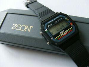 【送料無料】腕時計 ナイジェルマンセルゼオンインディカーミントnigel mansell zeon watch f1indycar mint condition
