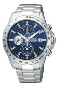 【送料無料】腕時計 メンズクロノグラフスチールブレスレットlorus mens chronograph steel bracelet rf851dx9 watch