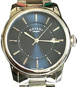 【送料無料】腕時計 ロータリークラシックデザインrotary gents classic design date watch