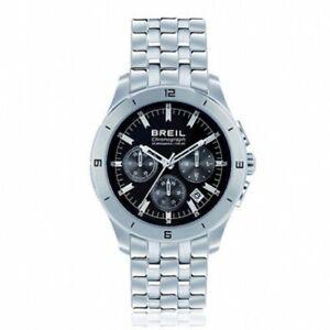 【送料無料】腕時計 orologio breil bstrong crono uomo nero 42 mm tw1180