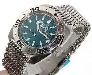 【送料無料】腕時計 ヴォストークダイバーウォッチサブvostok amphibia diver watch 200m sub 710059