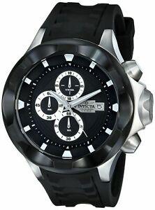【送料無料】腕時計 メンズステンレススチールケースブラックポリウレタン