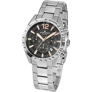 【送料無料】腕時計 ジャックルマンメンズスポーツスチールケースクオーツブレスレットjacques lemans mens sport 42mm steel bracelet amp; case quartz watch 425f