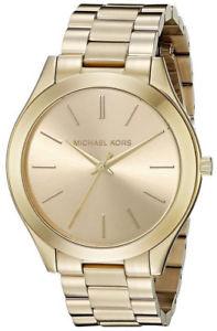 【送料無料】腕時計 ミハエルスリムゴールドトーンステンレススチールアナログウォッチmichael kors mk3179 womens slim runway gold tone stainless steel analog watch