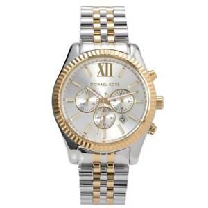 【送料無料】腕時計 ミハエルレキシントンメンズクロノグラフmichael kors mk8344 lexington twotone mens chrono watch 2 year warranty