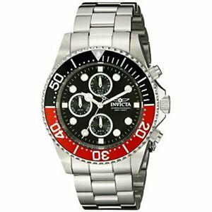 【送料無料】腕時計 プロダイバーステンレススチールクロノグラフウォッチinvicta pro diver 1770 stainless steel chronograph watch