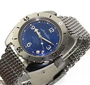【送料無料】腕時計 ヴォストークダイバーウォッチサブvostok amphibia diver watch 200m sub orologio russo 150346