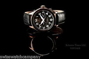 【送料無料】腕時計 ビンテージスイスマスターカレンダーkローズレザーストラップウォッチinvicta men vintage swiss isa master calender 18k rose gd ip leather strap watch
