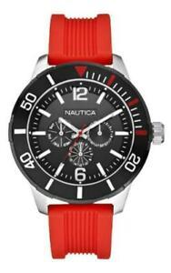 【送料無料】腕時計 オロロジオノーティカシリコーンサブダイビングスポーツorologio nautica uomo nsr11 a14626g silicone originale sub diving oversize sport