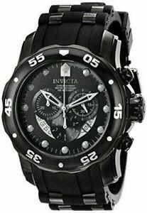 【送料無料】腕時計 メンズプロダイバークロノステンレススチールブラックポリウレタンウォッチ