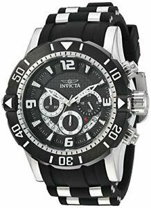 【送料無料】腕時計 プロダイバーメンズラウンドカーボンクロノグラフアナログウォッチinvicta pro diver 23696 mens round carbon chronograph date analog watch