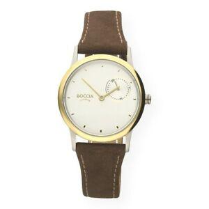 【送料無料】腕時計 チタンウォッチboccia damenuhr titan bicolor 327402