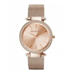 【送料無料】腕時計 ミハエルレディースローズゴールドトーンメッシュストラップクロノグラフウォッチmichael kors mk3369 ladies darci rose gold tone mesh strap chronograph watch