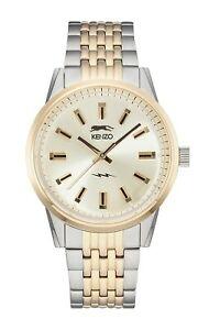 【送料無料】腕時計 ケンゾーパリメンズトーンウォッチドルkenzo paris men's 7 two tone watch nwt msrp 34900