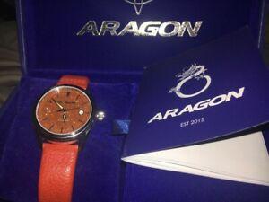 【送料無料】腕時計 アラゴンウォッチaragon red limited edition 065 100 galaxy watch