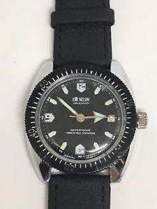 【送料無料】腕時計 ロードネルソンダイバーカレンダーウォッチlord nelson divers calendar watch