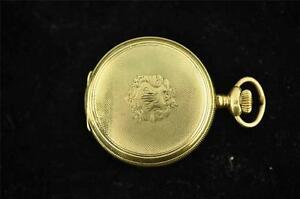 【送料無料】腕時計 ビンテージサイズポケットケースゴールドセットウォッチ
