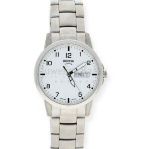 【送料無料】腕時計 チタンクラシックメンズウォッチboccia herrenuhr titan 60409 klassik 109